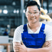 Schlosser im Stahlbau